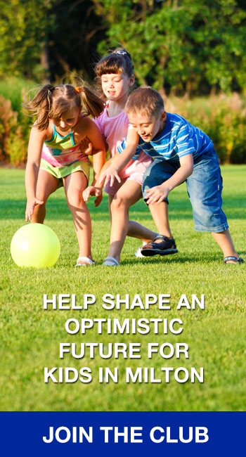 Help shape an optimist future for kids in Milton