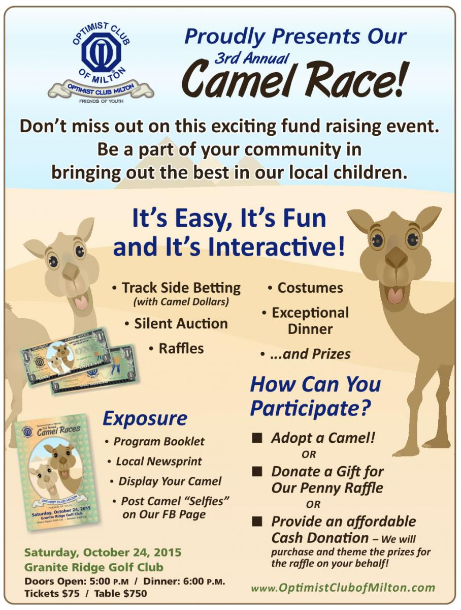 Optimist Club Camel Race